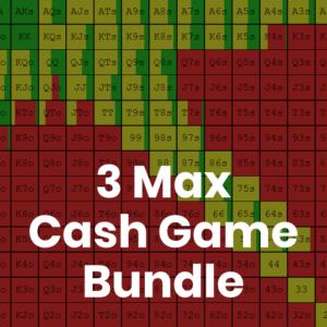 3 Max 500z Cash Game GTO Preflop Range Bundle