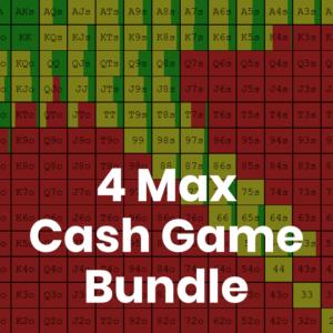 4 Max 500z Cash Game GTO Preflop Range Bundle