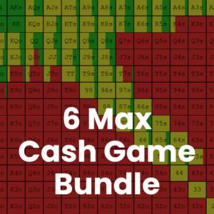 6 Max 500z Cash Game GTO Preflop Range Bundle
