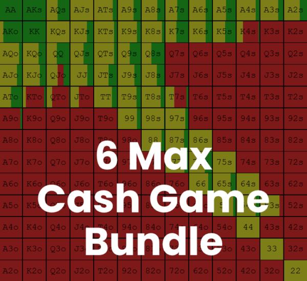 6 Max Cash Game Bundle Image - Preflop GTO Solutions
