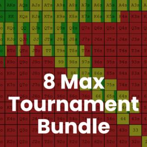 8 Max Tournament GTO Preflop Range Bundle