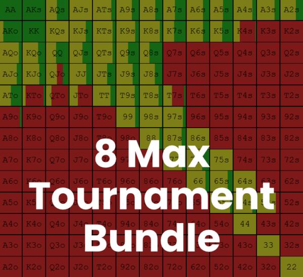 8 Max Tournament Bundle Image - Preflop GTO Solutions