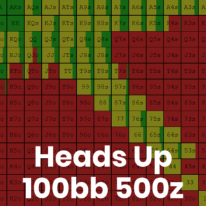 Heads Up 100bb 500z Cash Game