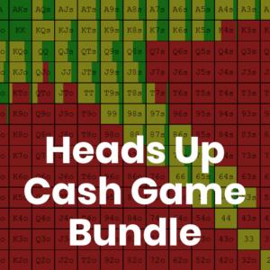 Heads Up 500z Cash Game GTO Preflop Range Bundle