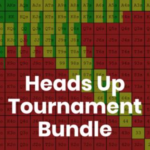 Heads Up Tournament GTO Preflop Range Bundle
