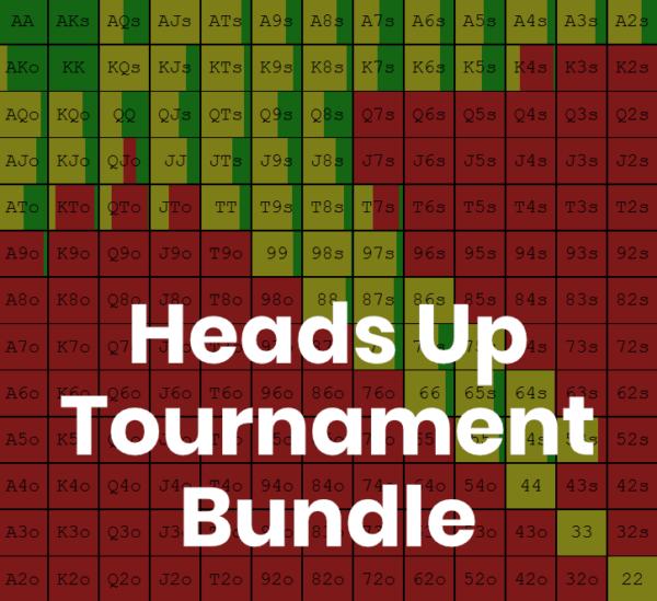 Heads Up Tournament Bundle Image - Preflop GTO Solutions